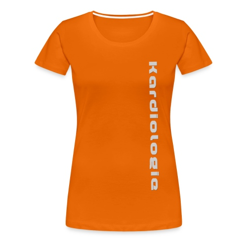 Kardiologie - Frauen Premium T-Shirt