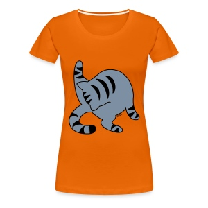 Grey Tabby - Women's Premium T-Shirt
