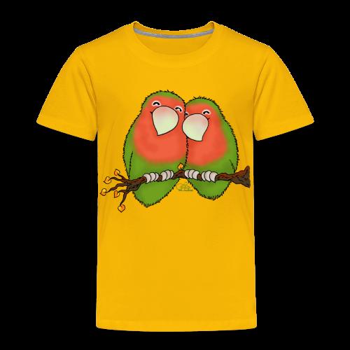 KinderShirt Tommy und Peppi - Lovebirds - Kinder Premium T-Shirt
