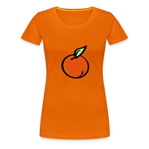 Damenshirt Orange - Frauen Premium T-Shirt