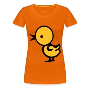 de grote kip - Vrouwen Premium T-shirt