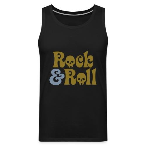 Rock & Roll-ihaton paita - Miesten premium hihaton paita