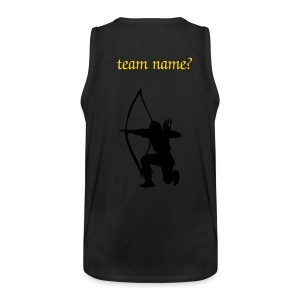 Mannen Premium tank top - Other models and print colours on request.