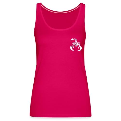 Débardeur Premium Femme - Ce débardeur dos nageur avec le logo Fight Way Of Life laisse les omoplates à l'air libre. Epaisseur du tissu: 220g/m², composition: 100% coton.