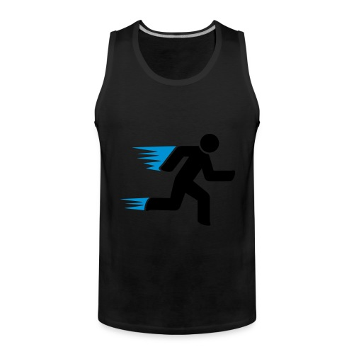 Faster than everybody - Men's Premium Tank Top