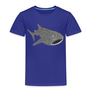 tiershirt walhai wal hai fisch whale shark taucher tauchen diver diving naturschutz endangered species - Kinder Premium T-Shirt