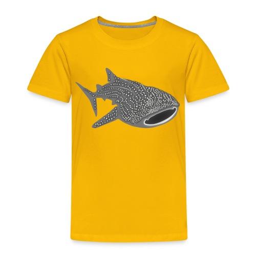 tiershirt walhai wal hai fisch whale shark taucher tauchen diver diving naturschutz endangered species - Kinder Premium T-Shirt