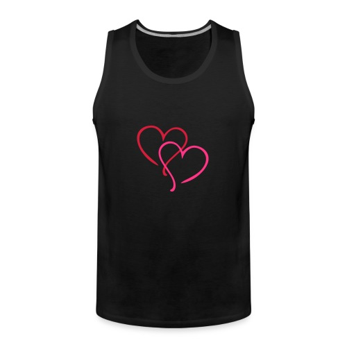 heart - Men's Premium Tank Top