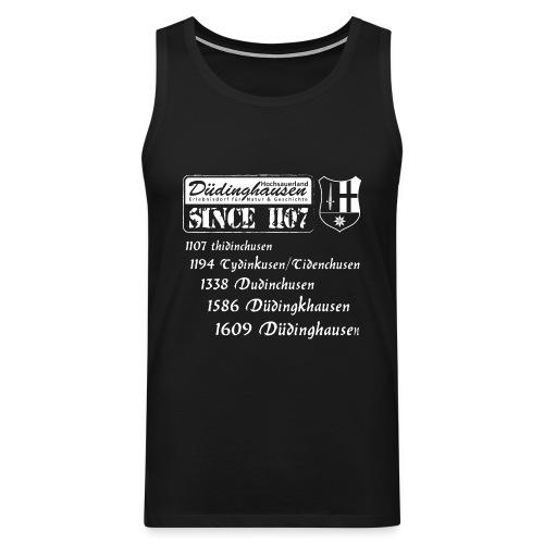 Düdinghausen since 1107 mit Namensänderung - Männer Premium Tank Top