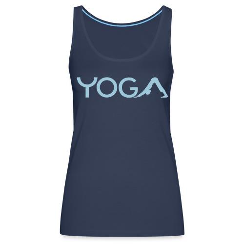 Yoga-Tanktop 1 - Frauen Premium Tank Top