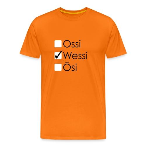 Ossi Wessi Ösi 2 - Männer Premium T-Shirt