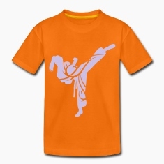 Karate tribal Children's T-shirt