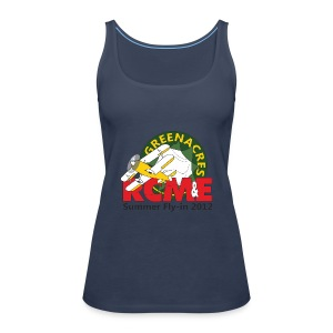 RCME Greenacres 2012 Women's Spagetti Top - Sky Blue - Women's Premium Tank Top