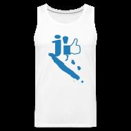 Vêtements de sport ~ Débardeur Premium Homme ~ J'aime la Nouvelle Calédonie