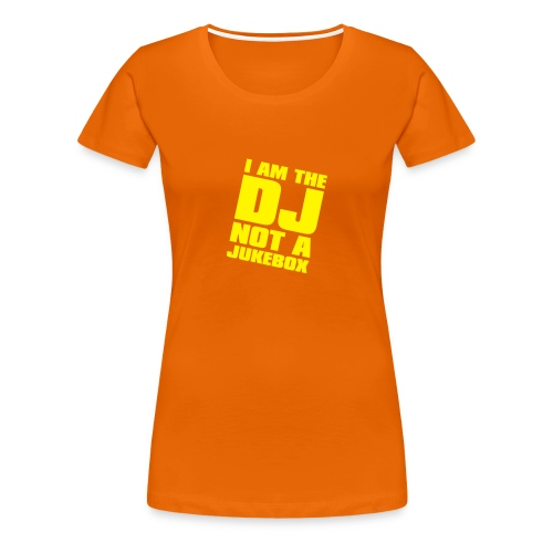 DJ Dame - T-shirt Premium Femme