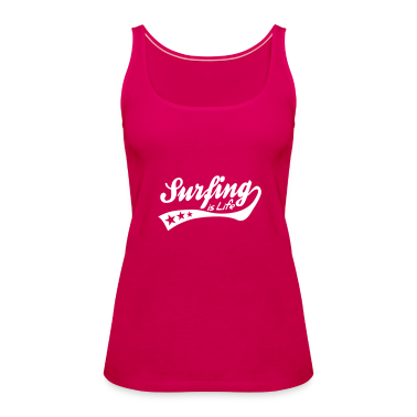 surfing is life - retro Top