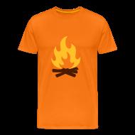 Tee shirts ~ T-shirt Premium Homme ~ Feu de Camp