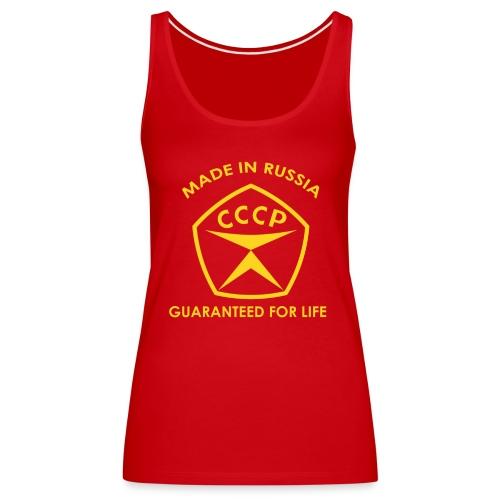 Made in Russia - Frauen Premium Tank Top