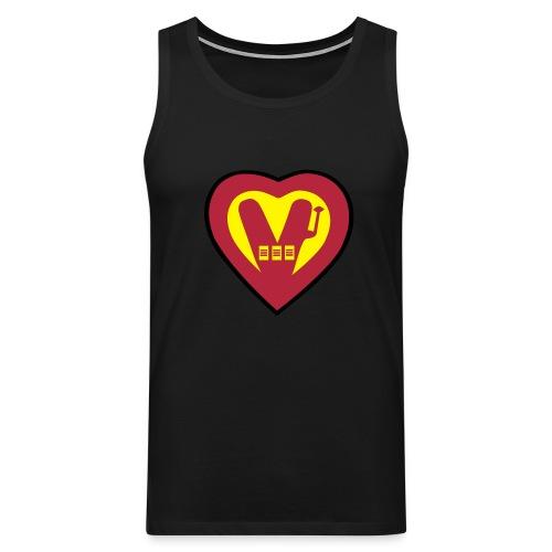 super Vegan - Men's Premium Tank Top