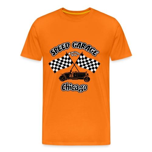 old racing team tee shirt - Men's Premium T-Shirt