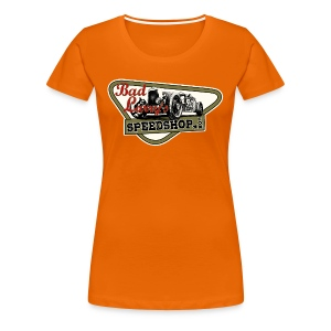 Bad Larry`s Speedshop Nr11 Girlie - Frauen Premium T-Shirt