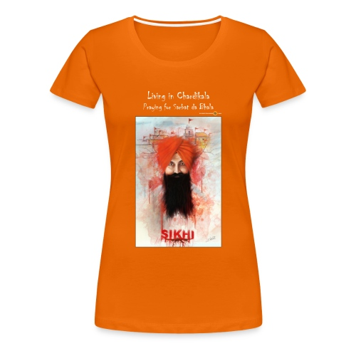Rajoana - Chardikala - ladies t-shirt - Women's Premium T-Shirt
