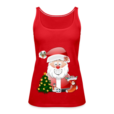 father christmas szene 5 tank top spreadshirt. Black Bedroom Furniture Sets. Home Design Ideas