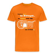 Tee shirts ~ T-shirt Premium Homme ~ Tee shirt c2b souvenirs breton