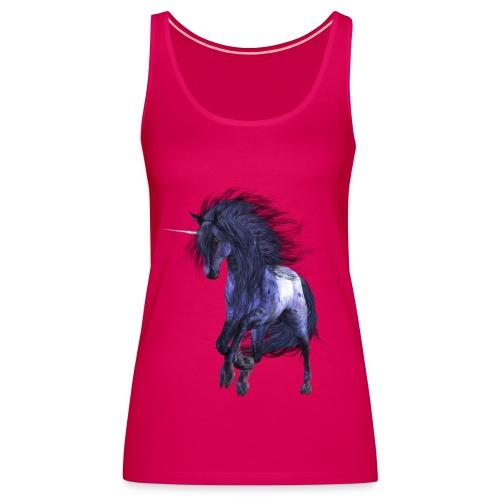 Blue Unicorn - Frauen Premium Tank Top