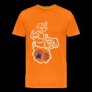 Tee shirts ~ T-shirt Premium Homme ~ Tee shirt humour pas de verre pas soif mais je boirai tout