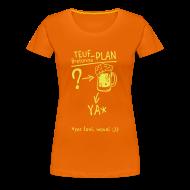 Tee shirts ~ T-shirt Premium Femme ~ Tee shirt humour breton teuf plan c2b