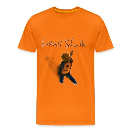 Michael Schulte Wandring Orange - Männer Premium T-Shirt