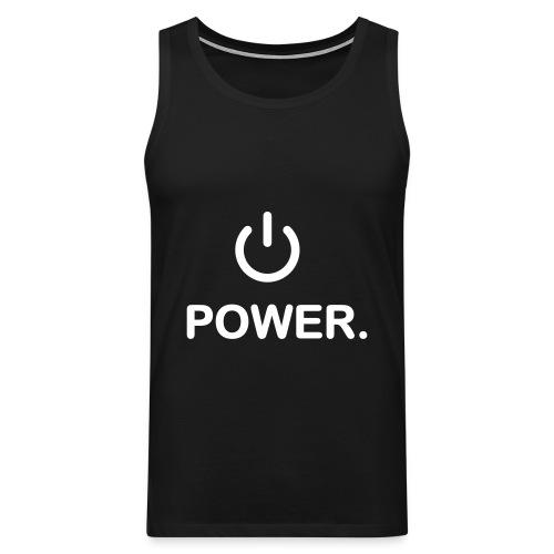 power - Débardeur Premium Homme