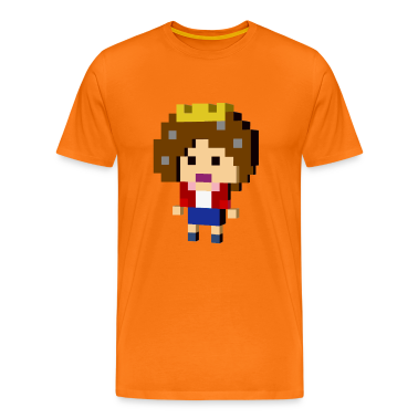 8-bit Arcade retro pixel Queen  T-Shirts