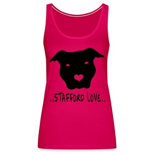 Stafford love - Vrouwen Premium tank top