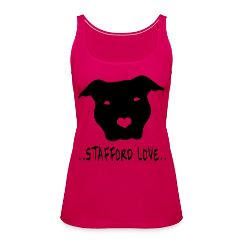 Stafford love - Vrouwen Premium tank top