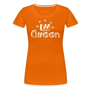 Be a Queen T-shirts - Premium-T-shirt dam