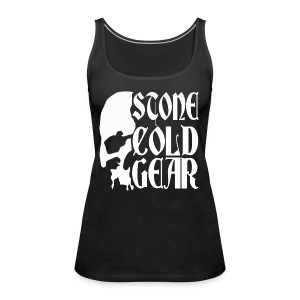 Stone Cold Gear Skull Logo - Women's Premium Tank Top