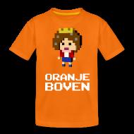 Shirts ~ Teenage Premium T-Shirt ~ Oranje boven