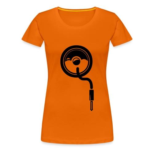 Funky Q women - Frauen Premium T-Shirt