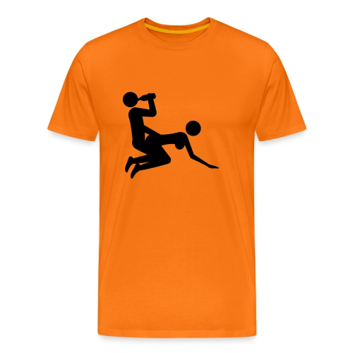 Fuckin' right, doggie! - Premium T-skjorte for menn