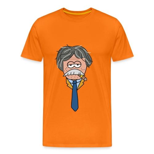 Snor - mannen - Mannen Premium T-shirt
