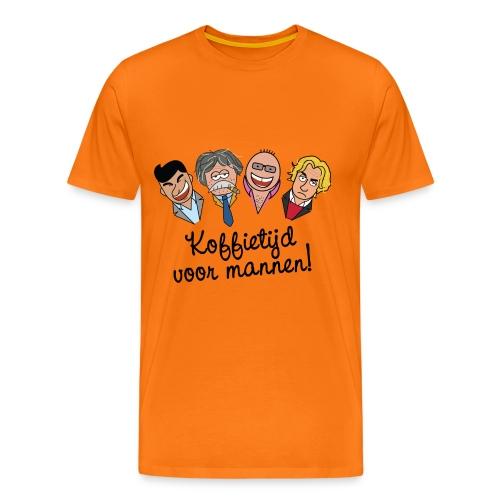 Koffietijd - mannen - Mannen Premium T-shirt