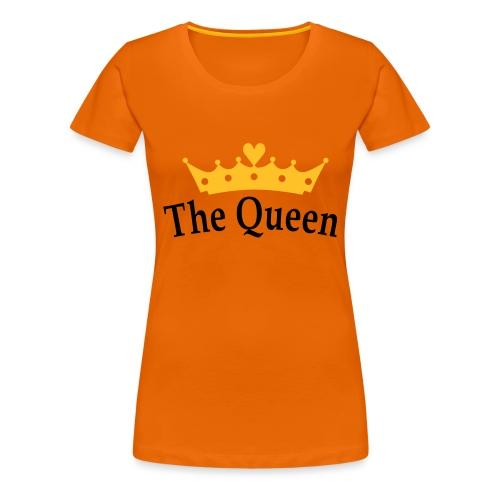 Koninginnedag The Queen - Vrouwen Premium T-shirt