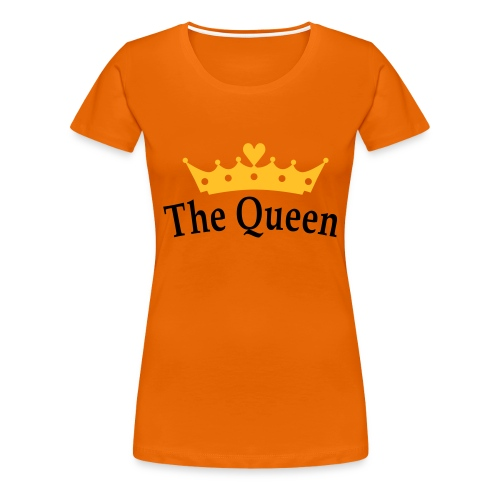 Koninginnedag The Queen - Vrouwen Premium T-shirt