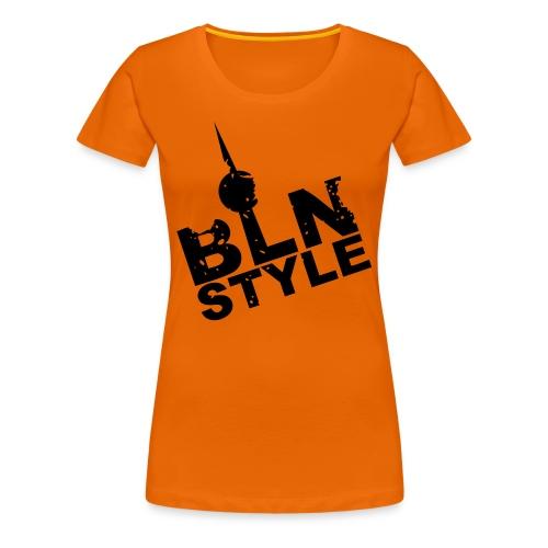 Berlin Style - Frauen Premium T-Shirt