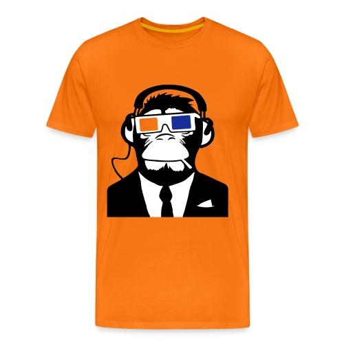 3D APE - Premium-T-shirt herr