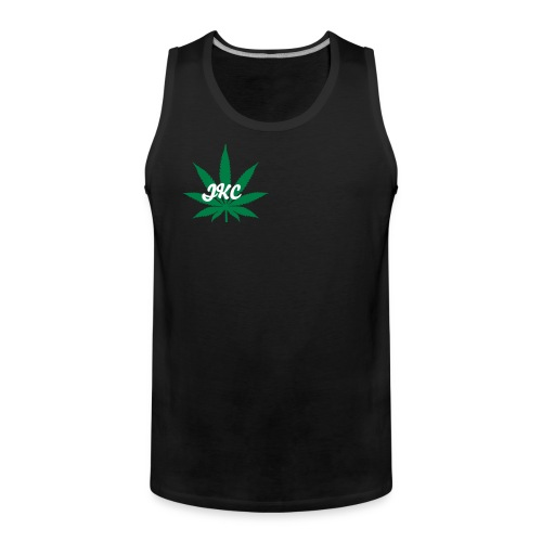 JKC Tank Top BLACK - Men's Premium Tank Top