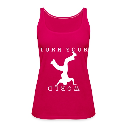 Girl Tank Turn - Frauen Premium Tank Top