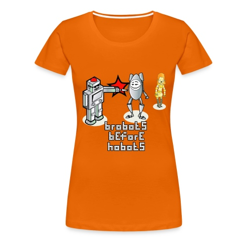 Brobots (f) - Women's Premium T-Shirt
